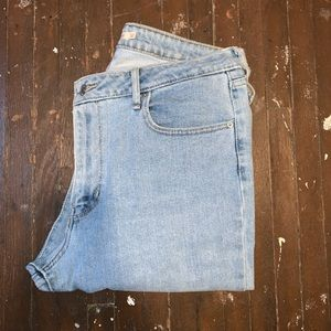 Levi's 521 Knee Rip Jeans